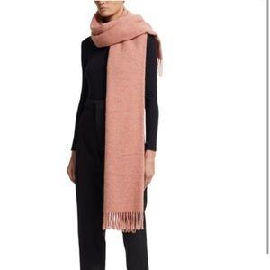 ACNE Studios Melange Dusty Rose Virgin Wool Scarf